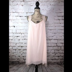 Cato Light Pink Tunic Dress